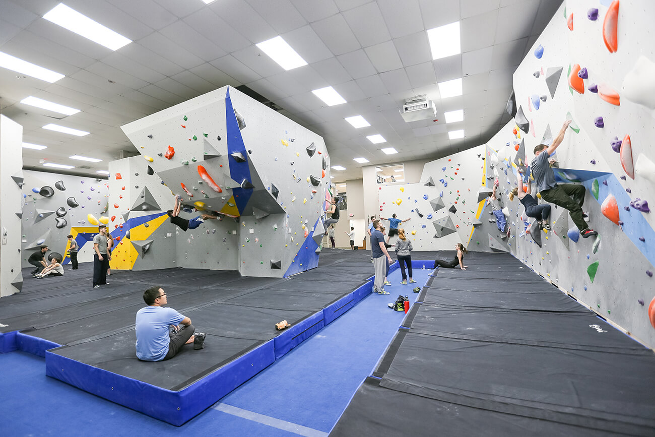 gallery - central rock gym