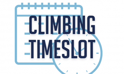 Climbing Timeslot