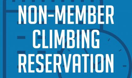 Non-Member Climbing Reservation