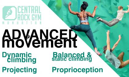 Climbing Progression Program – Advanced Movement