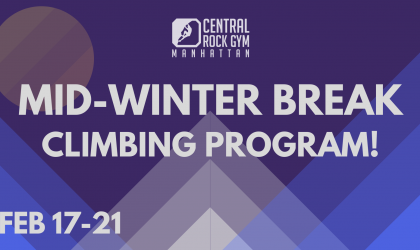 MidWinter Break Climbing Program