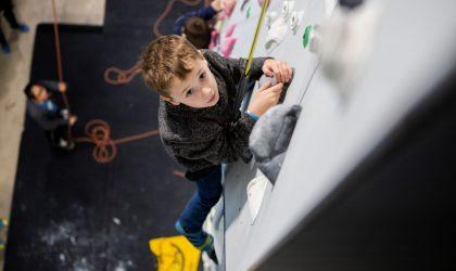 Kids Climbing Class