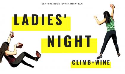 Ladies' Night: Climb + Wine