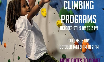 Holiday Climbing Programs