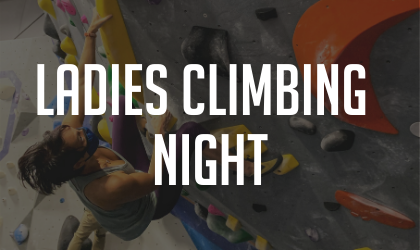 Ladies Climbing Night