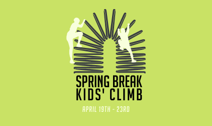 Spring Break Kids' Climb