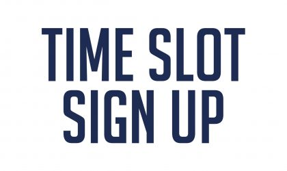 CRG Stoneham Time Slot Sign Up