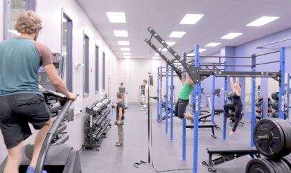 Full fitness gym