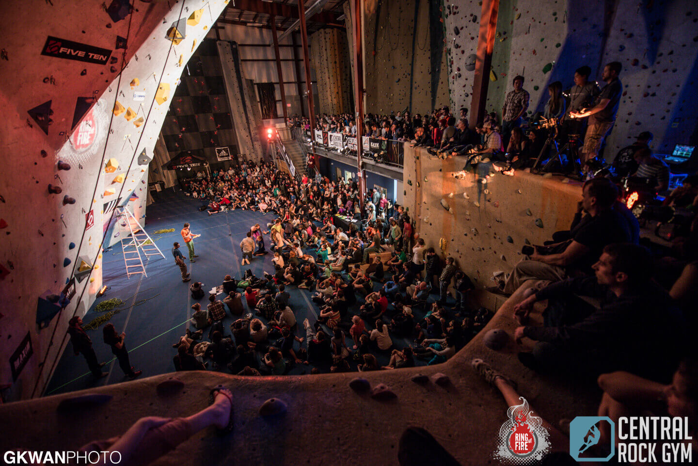 Ring of Fire competition at Central Rock Gym Watertown