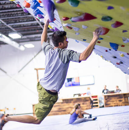 Indoor rock climbing central coast